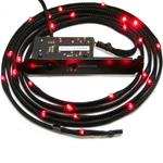 CAVO LUCI LED ROSSO PER CABINET 1MT 12 LED NZXT